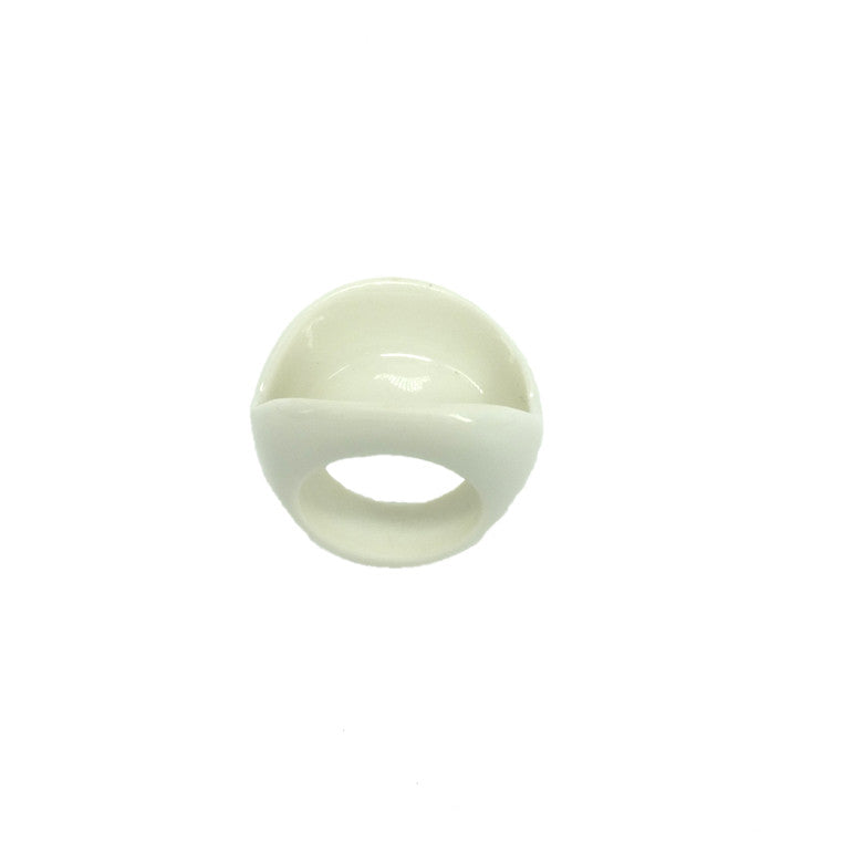 Juliane Blank- White Porcelain Ring