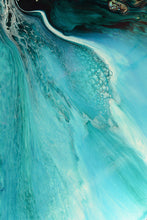 Load image into Gallery viewer, Abstract Oceanscape. Rise Above Inlet 2. Art Print. Antuanelle Ocean Inspired Artwork. Limited Edition Print