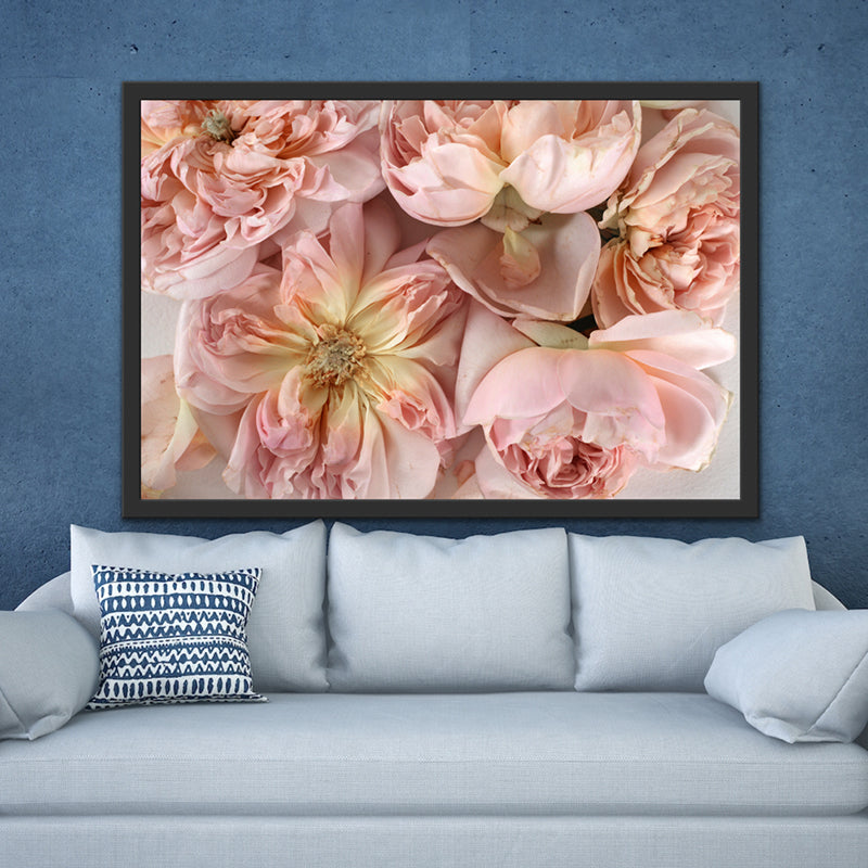 Abstract Floral. Soft Pink. Flower Power Macro. Art Print. Antuanelle 1 Pink Floral Artwork. Limited Edition Print