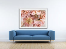 Load image into Gallery viewer, Abstract Floral. Soft Pink. Flower Power Macro. Art Print. Antuanelle 3 Pink Floral Artwork. Limited Edition Print
