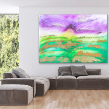 Load image into Gallery viewer, Bali Green. Abstract Limited Edition Print. Antuanelle 4
