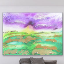 Load image into Gallery viewer, Bali Green. Abstract Limited Edition Print. Antuanelle 1