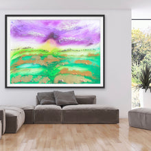 Load image into Gallery viewer, Bali Green. Abstract Limited Edition Print. Antuanelle 5