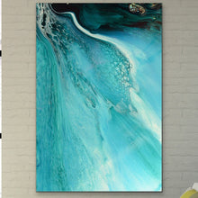Load image into Gallery viewer, Abstract Oceanscape. Rise Above Inlet 2. Art Print. Antuanelle 1 Ocean Inspired Artwork. Limited Edition Print