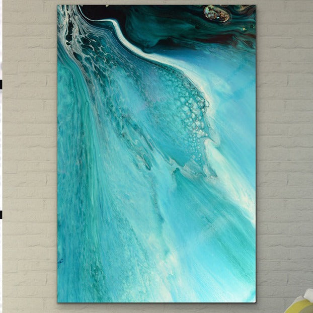 Abstract Oceanscape. Rise Above Inlet 2. Art Print. Antuanelle 1 Ocean Inspired Artwork. Limited Edition Print
