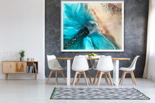 Load image into Gallery viewer, Abstract shoreline. Rise Above Ocean Seascape. Art Print Antuanelle 2 Limited Edition