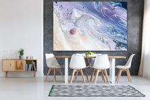 Load image into Gallery viewer, Abstract Sky. Velvet skyes Lavender 2. Art Print. Antuanelle 4 Sky Artwork. Limited Edition Print