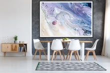 Load image into Gallery viewer, Abstract Sky. Velvet skyes Lavender 2. Art Print. Antuanelle 3 Sky Artwork. Limited Edition Print