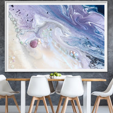Load image into Gallery viewer, Abstract Sky. Velvet skyes Lavender 2. Art Print. Antuanelle 1 Sky Artwork. Limited Edition Print