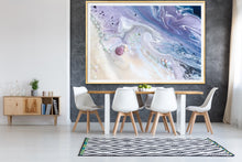 Load image into Gallery viewer, Abstract Sky. Velvet skyes Lavender 2. Art Print. Antuanelle Sky Artwork. Limited Edition Print