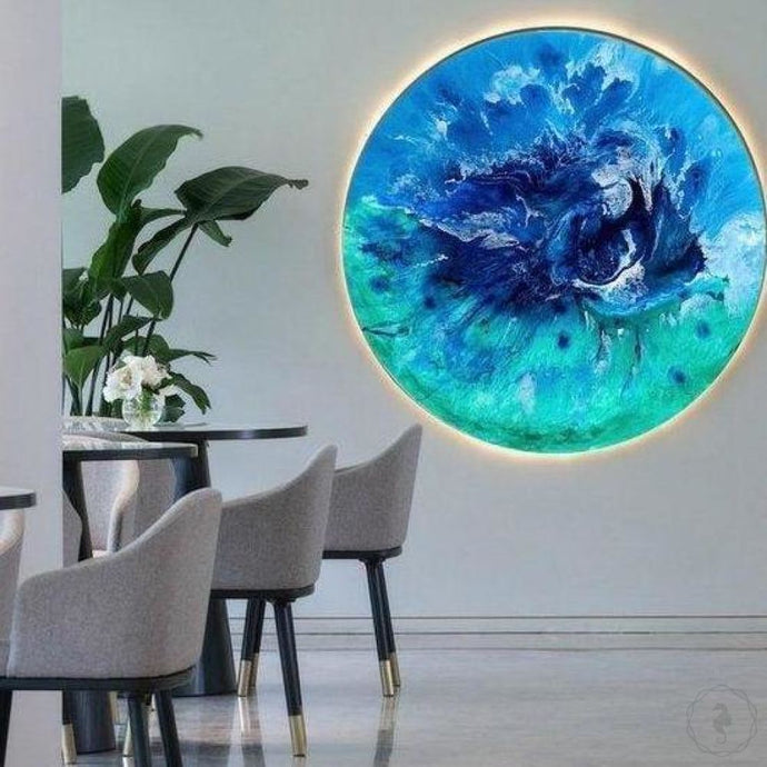 Art Print Bondi Surf Abstract Ocean. Limited Edition Antuanelle