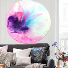 Load image into Gallery viewer, MADE TO ORDER. Porthole Artwork. Abstract Floral. Calmo. Antuanelle 1 Original COMMISSION - Custom Artwork
