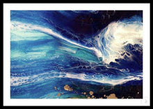 Load image into Gallery viewer, Abstract Navy Seascape. Blue Deep Pandora. Art print. Antuanelle 4 Pandora Ocean. Limited Edition Print