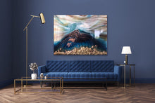 Load image into Gallery viewer, Seascape. Beach Resin Artwork | ANTUANELLE | Oblivion 6 Oblivion. Original