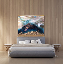 Load image into Gallery viewer, Seascape. Beach Resin Artwork | ANTUANELLE | Oblivion 8 Oblivion. Original