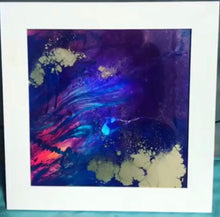 Load image into Gallery viewer, Purple Holographic - Abstract Artwork 3 Holo. Original