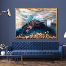 Load image into Gallery viewer, Seascape. Beach Resin Artwork | ANTUANELLE | Oblivion 2 Oblivion. Original