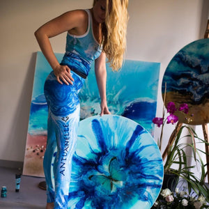 Leggings Art Leggings/ Gym Pants / Yoga | Life Style Antuanelle