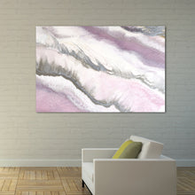 Load image into Gallery viewer, Abstract Artwork. Pink and Grey. Blush Sands 2. Art Print. Antuanelle 4 Limited Edition Print