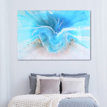 Load image into Gallery viewer, Abstract Ocean. Light Blue. Coogee Vibe 2. Art Print. Antuanelle 4 Ocean Artwork. Limited Edition Print
