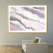 Load image into Gallery viewer, Abstract Artwork. Pink and Grey. Blush Sands 2. Art Print. Antuanelle 6 Limited Edition Print