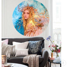 Load image into Gallery viewer, Custom Artwork. Peace. Abstract Portrait. Antuanelle 3 Original COMMISSION - Artwork