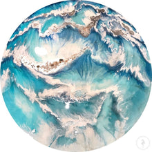 Load image into Gallery viewer, Coastal Resin Artwork | ANTUANELLE | Wonderland 2. Original Abstract Wave
