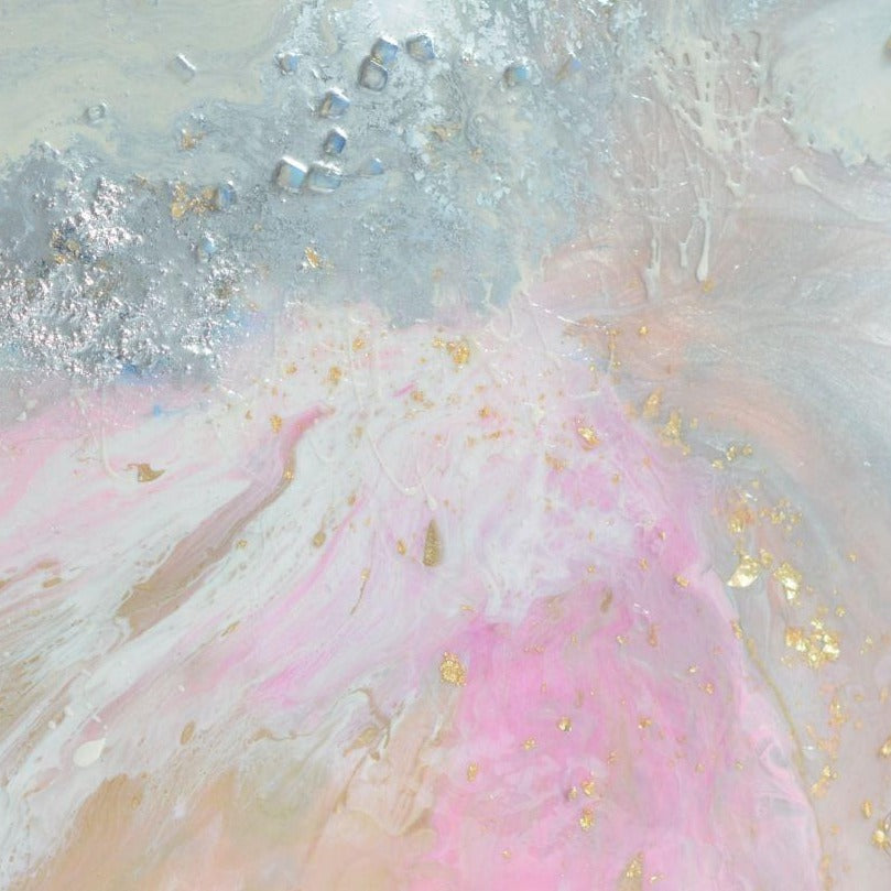Pink Blush. Abstract Artwork. Angelic Dreams. Antuanelle 2 Original COMMISSION - Custom Artwork