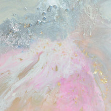 Load image into Gallery viewer, Pink and white. Abstract Artwork. Angelic Dreams. Antuanelle 2 Original Artwork