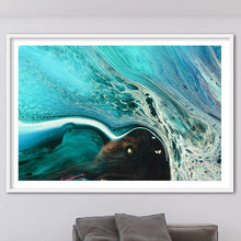 Load image into Gallery viewer, Abstract Seascape. Rise Above Inlet 2 Tropical. Art Print. Antuanelle 1 Tropical Artwork. Limited Edition Print