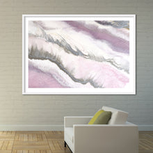 Load image into Gallery viewer, Abstract Artwork. Pink and Grey. Blush Sands 2. Art Print. Antuanelle 5 Limited Edition Print