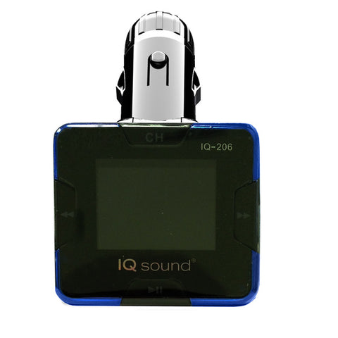 Supersonic Wireless FM Transmitter with 1.4 and rdquo; Display