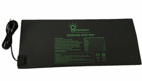 "10""x20.75""  Seedling Heat Mat for cloning propagation"