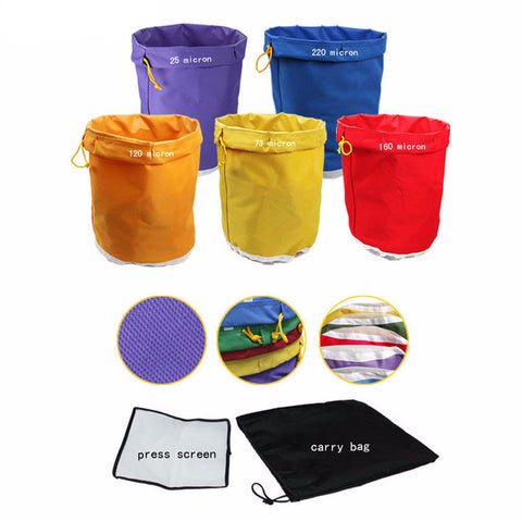 5 Gallon 5 Bag Kit Free Press Screen Bubble Ice Bags