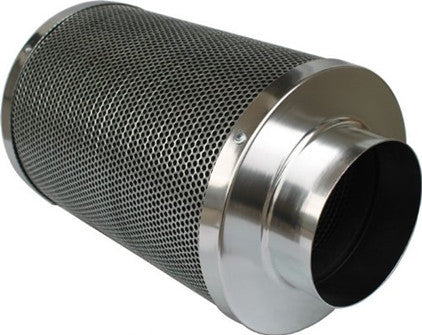 6 Inch 300mm Height Air Carbon Filter Odor Control Virgin Charcoal