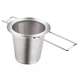 Reusable Stainless Steel Tea Strainer Infuser Filter Basket