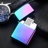 Windproof Thunder Metal Electric Plasma Lighter