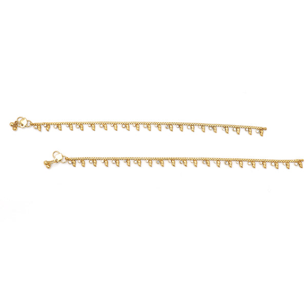 Traditional Gold anklet