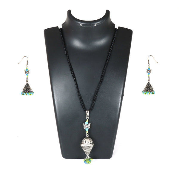Blue green conical set