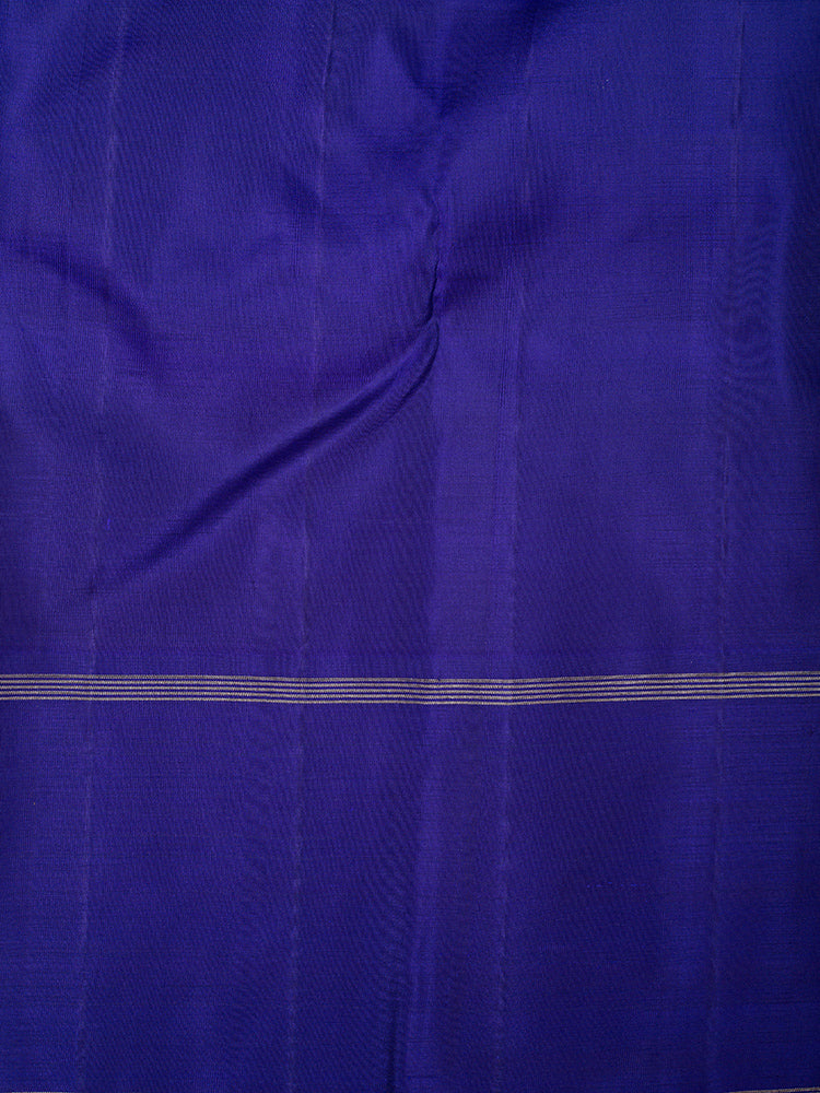 Kanjivaram Silk Sarees Yellow and Parrot Green with Checks and Blue with Annam Zari border
