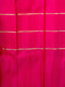 Pure Kanjivaram silk saree maanthulir green with pink half and half style border