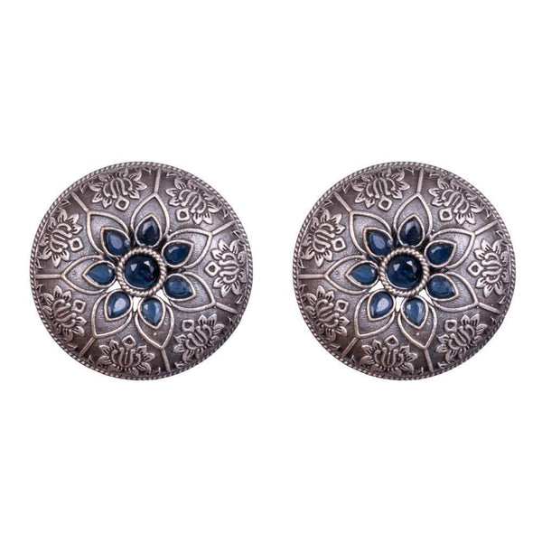 Circular Historical Design Earrings