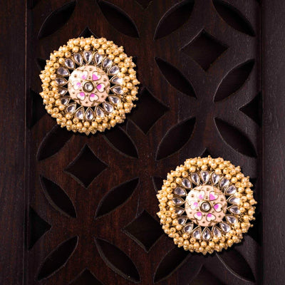 Stylish Floral Themed Earrings