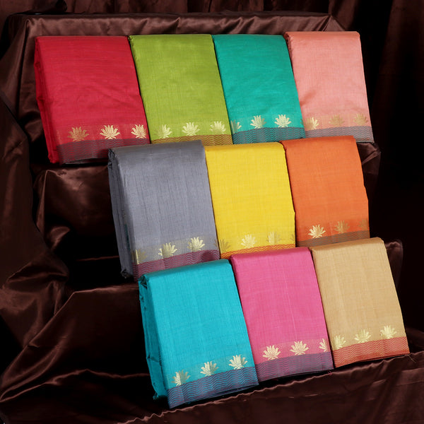 Raw Silk Sarees Gift Pack of 10 for Rs.Rs. 7900.00 | Gift Pack by Prashanti Sarees