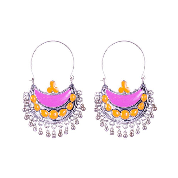 Chandbali Traditional Love Earrings