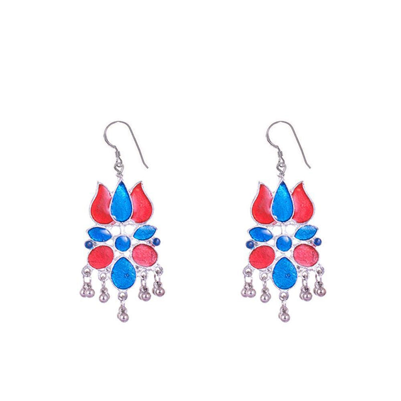 Lotus Shaped Trendy Earrings
