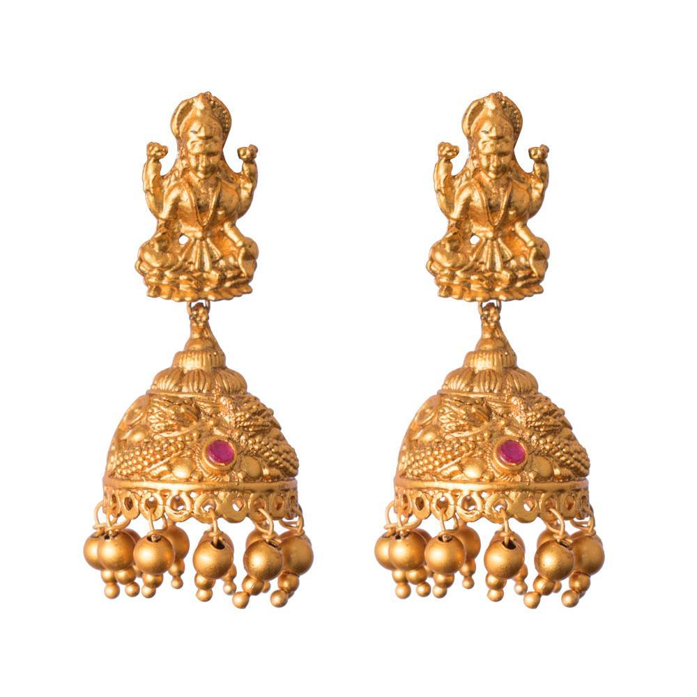 Beautiful goddess jhumkas