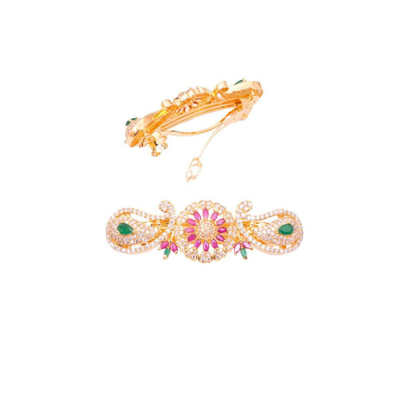 Multicolour American Diamond charming Hair Clip