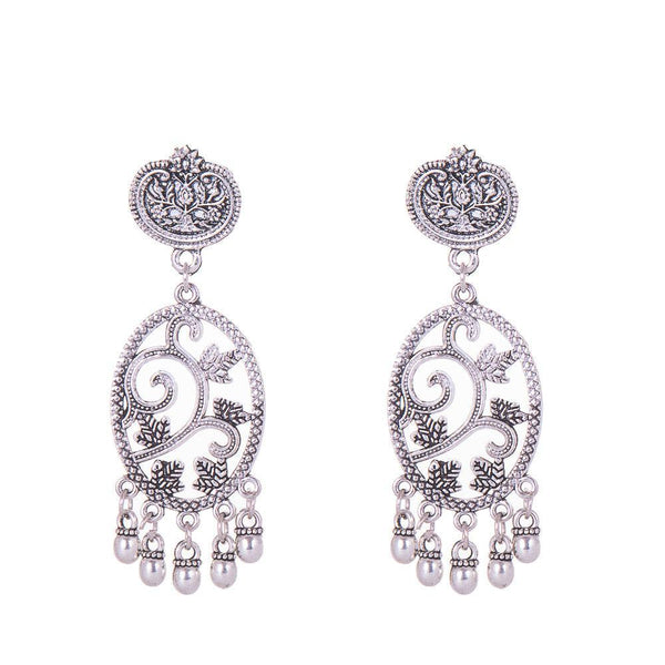Classy Silver Dangling surprise Earrings