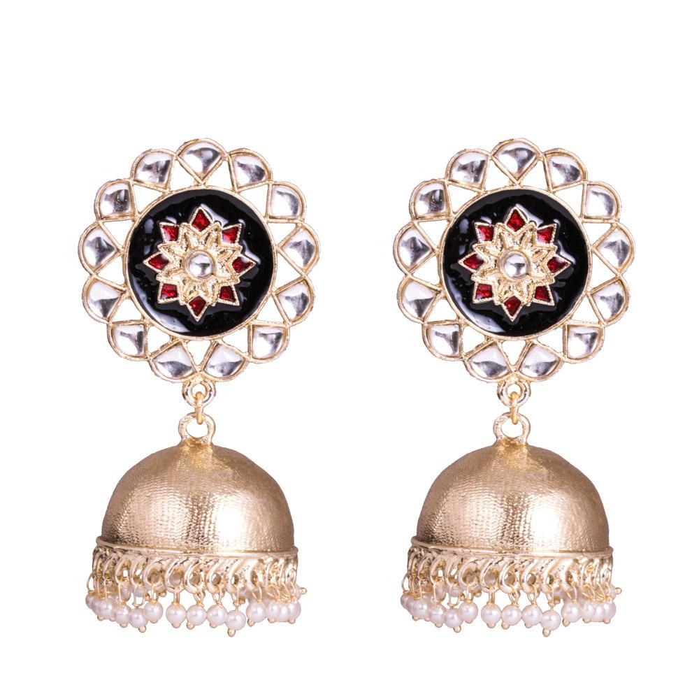 Groove traditional jhumkas
